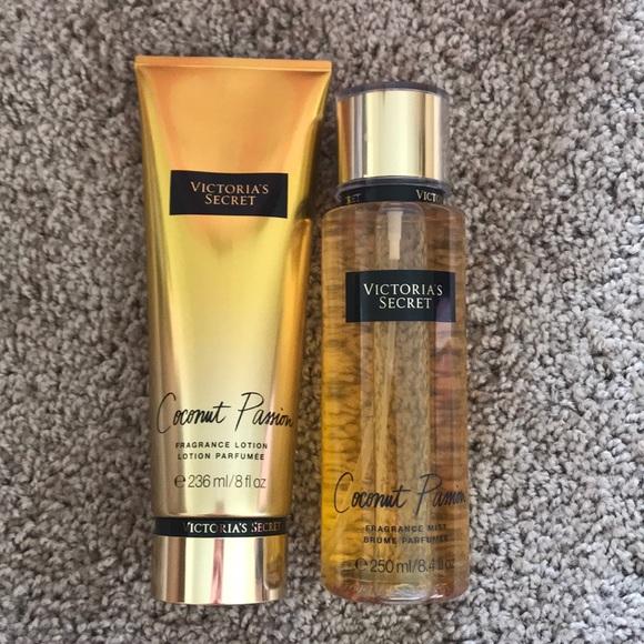 2fd01f23c3 Coconut Passion fragrance set. NWT. Victoria s Secret